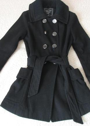 Пальто atmosphere черного цвета