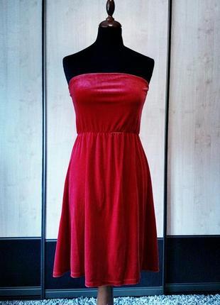 🔥 распродажа в связи с переездом! вечернее красное платье zara