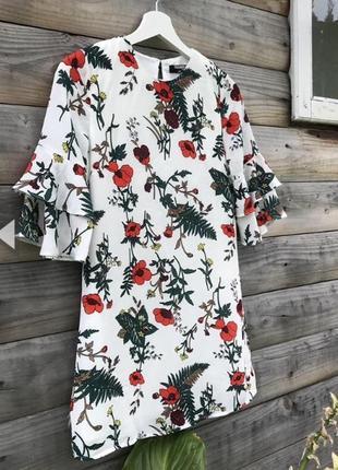 Стильне,ніжне плаття в квіти