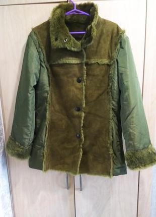 Куртка/дублёнка известного итальянского бренда