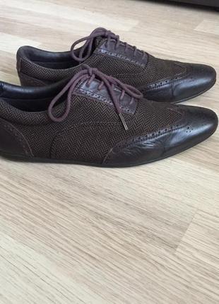 Туфли оксфорды кожаные schmoove 42 размер