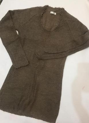 Платье-свитер promod