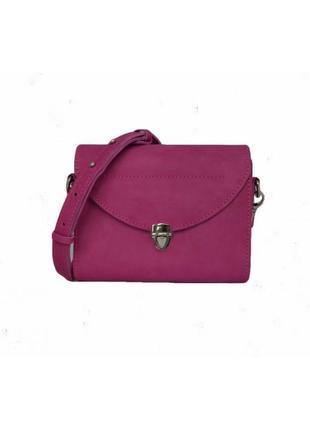 Klasni rosita сумка крос-боди кожа розовая