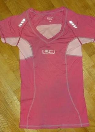 Женская футболка crivit с компрессионным эффектом спортивная