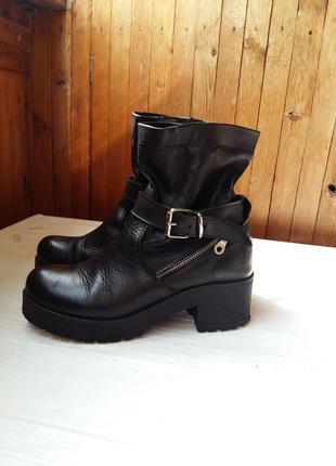 Ботинки\кожзам