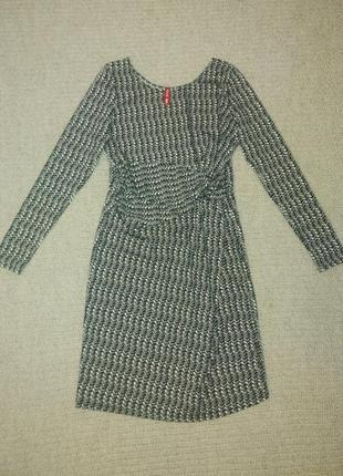 Платье для беременных с длинным рукавом размер m