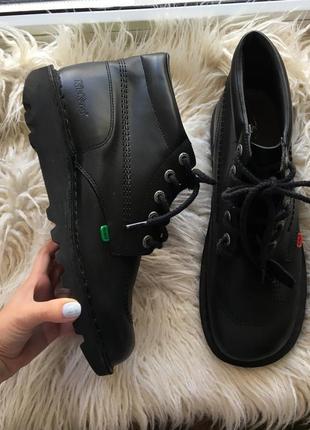 Натур. кожаные ботинки  42-43