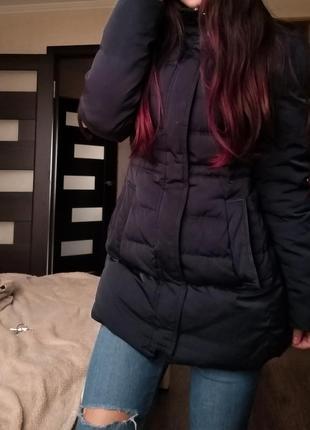 Пуховик zara, куртка теплая