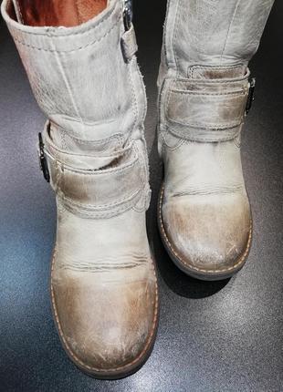 Крутые ботинки из натуральной кожи twins, р. 31 (21,0 см.)2