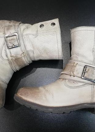 Крутые ботинки из натуральной кожи twins, р. 31 (21,0 см.)
