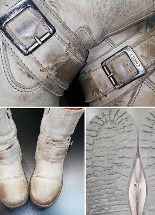 Крутые ботинки из натуральной кожи twins, р. 31 (21,0 см.)5