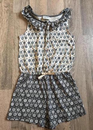 Ромпер комбинезон сарафан для девочки некст