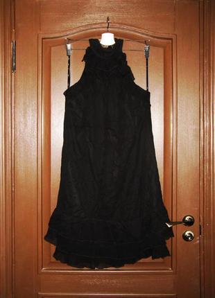Вечернее коктейльное платье из шёлка от американского бренда esprit р. l-xl