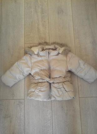 Куртка zara 9-12 місяців