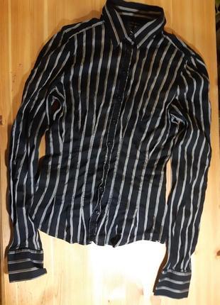 Стрейчевая блуза zara woman