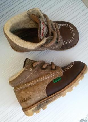 Крутие ботиночки 24 розмір, натуральние!
