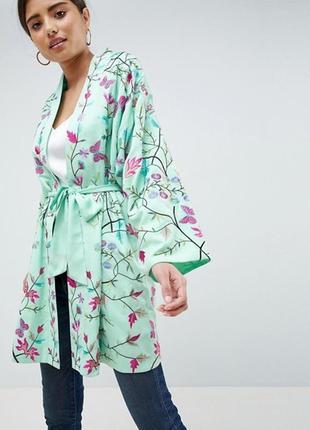 Кимоно с вышивкой asos design
