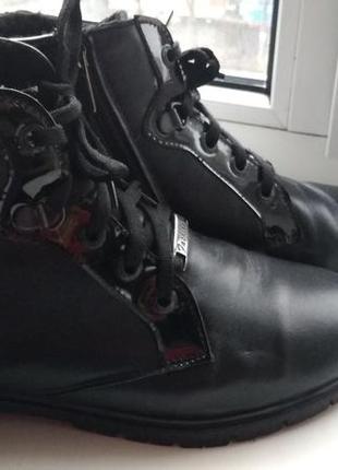 Ботинки кожаные осенние 37 размер
