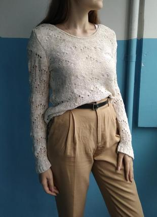 Нежный легкий свитер джемпер