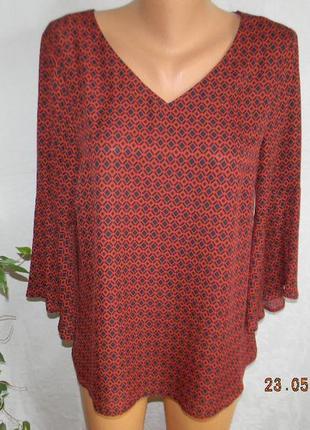 Новая блуза с принтом debenhams