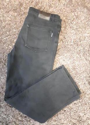 Утепленные джинсы большой размер