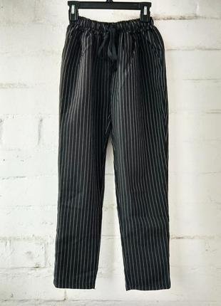 Узкие штаны в полосочку