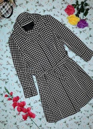 Драповое теплое шерстяное пальто f&f, размер 48-50