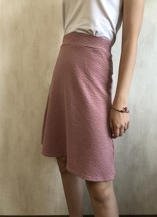 Розовая юбка gloria jeans
