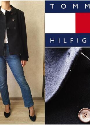 Дизайнерское пальто полупальто тренч шерсть tommy halfiger p. s - m - l пиджак жакет