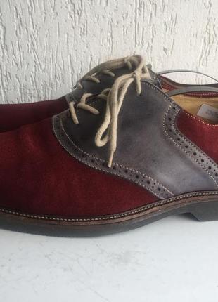 Кожаные ортопедические туфли men nordstrom1901. 44-44,5 р. бразилия