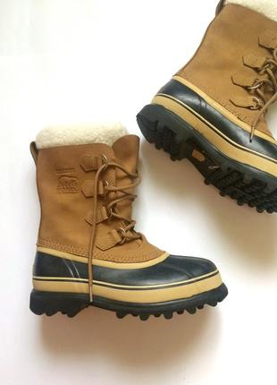 Ботинки зимние sorel caribou,  оригинал, сапоги утепленные