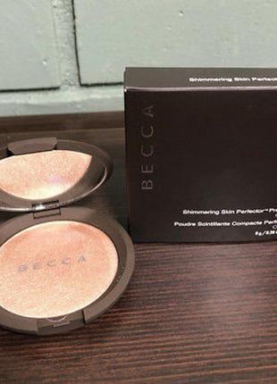 Кремовый хайлайтер becca shimmering skin perfector poured creme highlighter (opal)