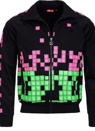 Оригинал мужская спортивная куртка олимпийка puma pixel. размеры s, м, l 861e26a667d