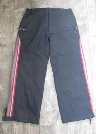 Штаны лыжные мембранные 140-146 см рост