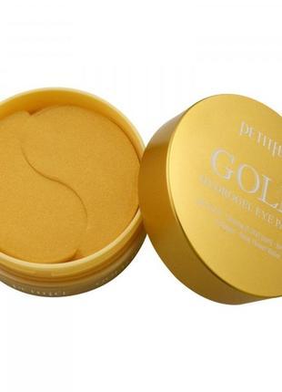 Petitfee gold hydrogel eye patch патчи с экстрактом золота 60 шт