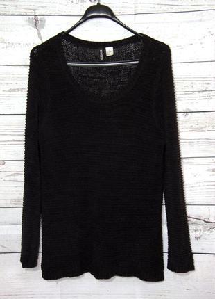 Крутой брендовый  вязанный пуловер свитшот