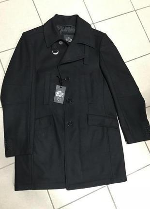 Пальто тренч шерстяной it's дорогой бренд оригинал размер l или 48
