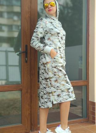 Платье military style family look