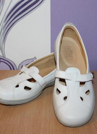 Кожаные туфли hotter разм 37-37.5 англия