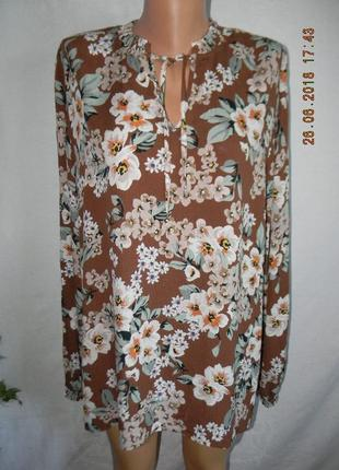 Блуза вискоза большого размера tu