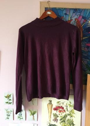 Сливовый свитер bhs