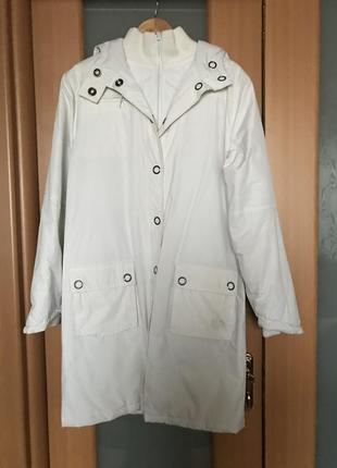 Пальто плащевую на синтепоне