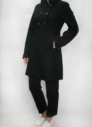 Пальто h&m 60% шерсть, размер с-м