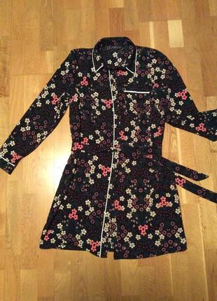 Платье-рубашка в пижамном стиле dorothy perkins