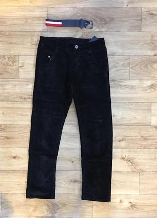 Вельветовые штаны брюки джинсы на мальчика, венгрия. 134-164 р.