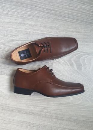 Новые туфли для мальчика, кожа 18 - 19 см 28, 29 размер