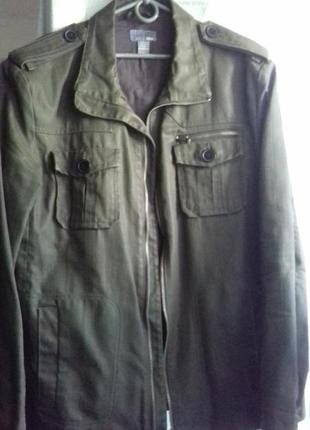 Джинсовый непромокаемый пиджак h&s