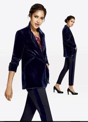 Жакет пиджак бархатный esmara