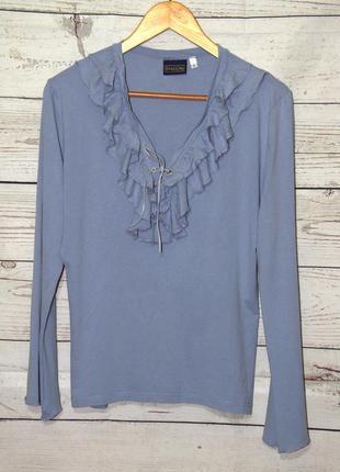 Классная трикотажная блузка в подарок!