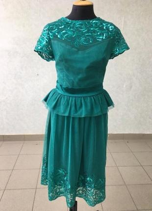 Красивый женский костюм 44—46 размер юбка блузка дизайнерский пошив 1500 грн